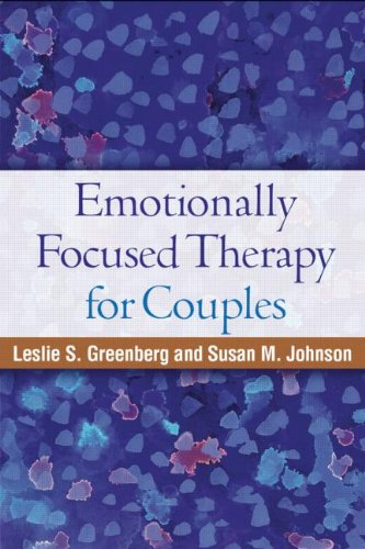 Emotionally Focused Therapy for Couples   1988 edition cover