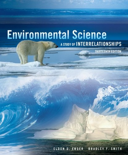 Environmental Science  13th 2013 9780073383279 Front Cover
