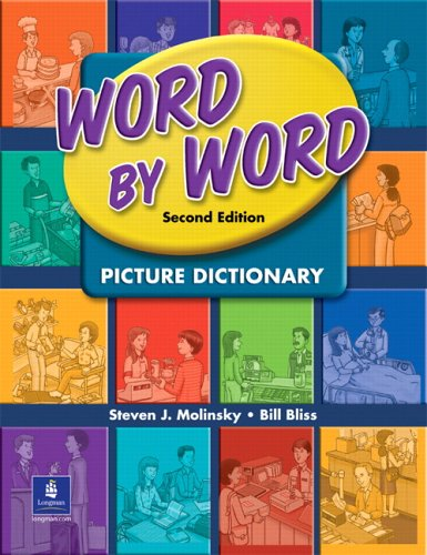 Word by Word Picture Dictionary  2nd 2005 edition cover