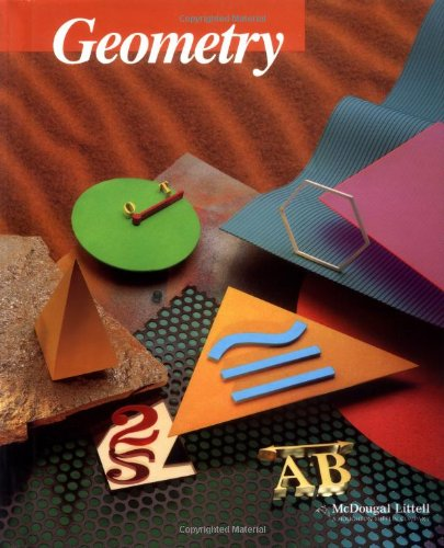 Cover art for Geometry, 5th Edition