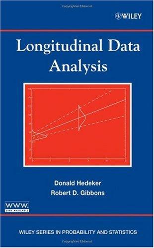 Longitudinal Data Analysis   2006 edition cover