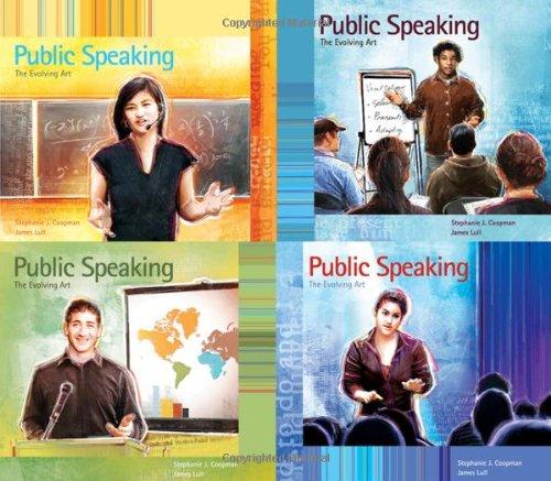 Public Speaking The Evolving Art  2009 9780534637279 Front Cover