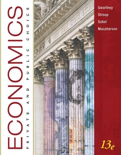 Economics Private and Public Choice 13th 2011 edition cover