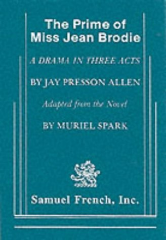Prime of Miss Jean Brodie   2006 edition cover