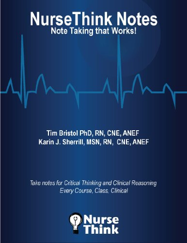 NurseThink Notes Note Taking That Works! N/A 9780578127279 Front Cover