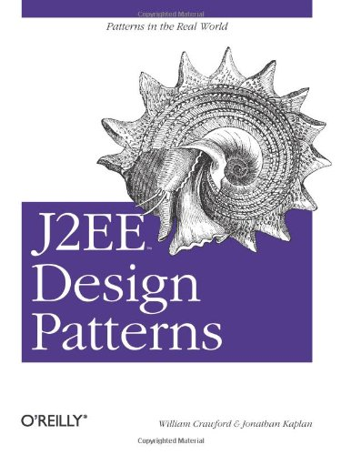 J2EE Design Patterns Patterns in the Real World  2003 9780596004279 Front Cover