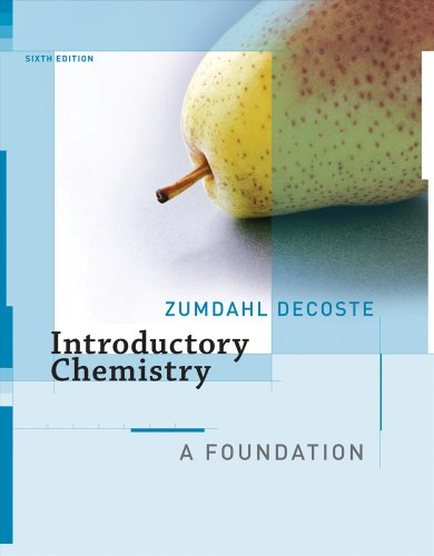 Introductory Chemistry A Foundation 6th 2008 edition cover