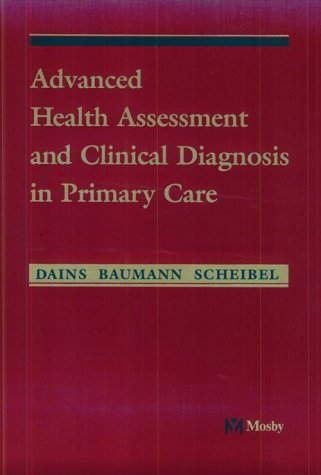 Advanced Assessment and Clinical Diagnosis   1998 edition cover