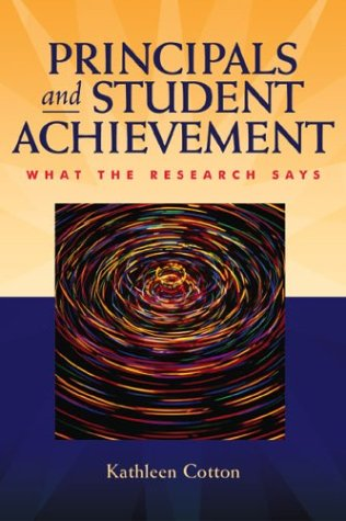 Principals and Student Achievement What the Research Says  2003 edition cover