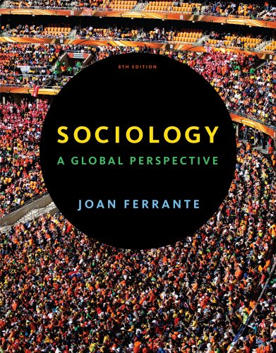 Sociology A Global Perspective 8th 2013 edition cover