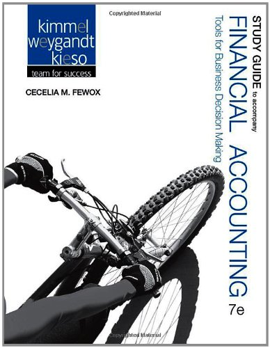 Financial Accounting Tools for Business Decision Making 7th 2013 edition cover