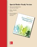 Loose Leaf Essentials of Contemporary Management with Connect Plus  6th 2015 9781259180279 Front Cover