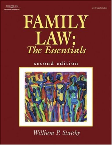 Family Law The Essentials 2nd 2004 (Revised) edition cover
