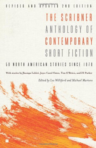 Scribner Anthology of Contemporary Short Fiction 50 North American Stories Since 1970 2nd 2007 (Revised) 9781416532279 Front Cover