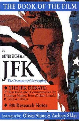 JFK The Book of the Film - A Documented Screenplay  1992 edition cover
