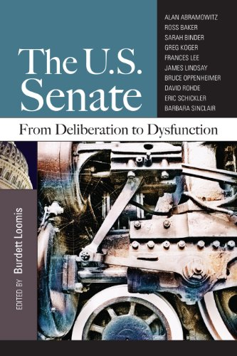 U. S. Senate From Deliberation to Dysfunction  2012 (Revised) edition cover