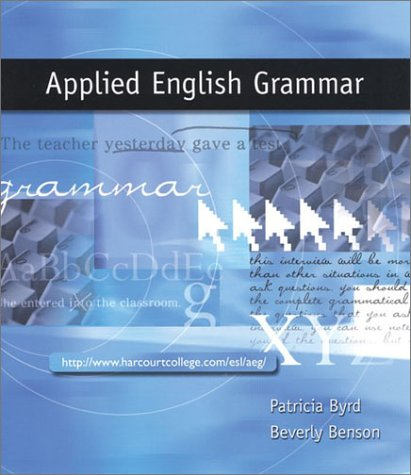 Applied English Grammar   2001 edition cover