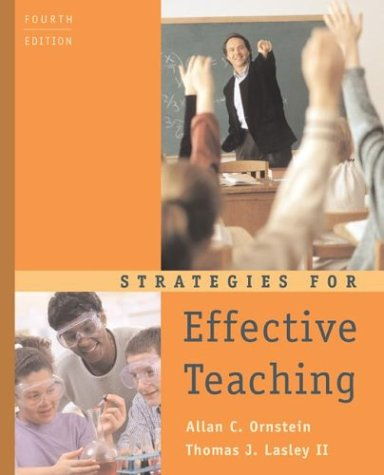 Strategies for Effective Teaching  4th 2004 (Revised) edition cover