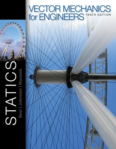 Vector Mechanics for Engineers - Statics  10th 2013 9780077402280 Front Cover