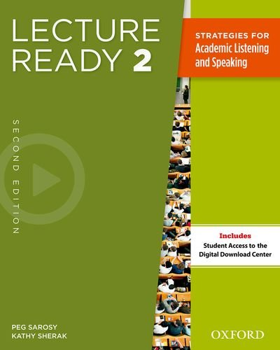 Lecture Ready, Level 2  2nd 2013 (Student Manual, Study Guide, etc.) edition cover
