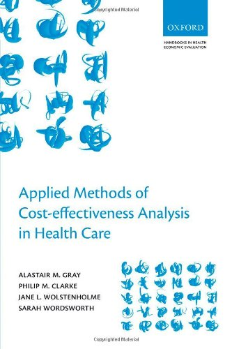 Applied Methods of Cost-Effectiveness Analysis in Healthcare   2010 edition cover