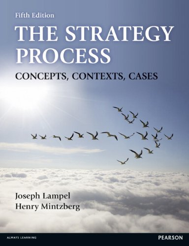 Strategy Process Concepts, Contexts, Cases 5th 2014 edition cover