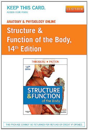 Anatomy and Physiology Online for Structure and Function of the Body  14th 2012 edition cover
