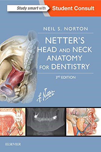 Cover art for Netter's Head and Neck Anatomy for Dentistry, 3rd Edition