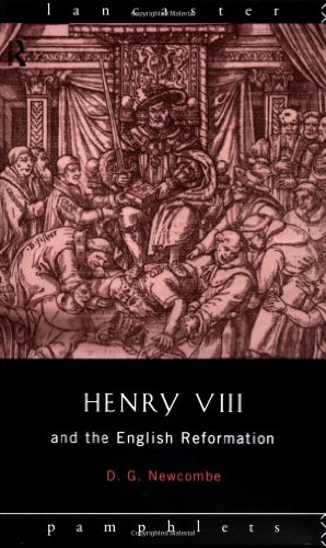 Henry VIII and the English Reformation   1995 edition cover