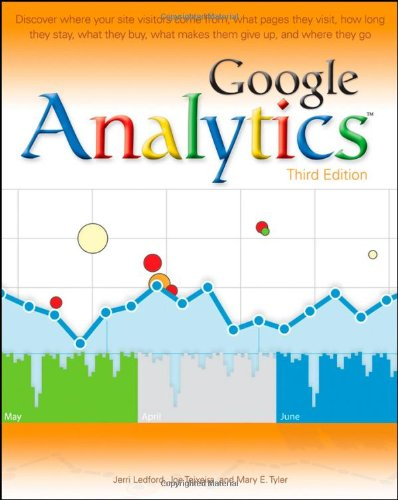 Google Analytics  3rd 2010 9780470531280 Front Cover