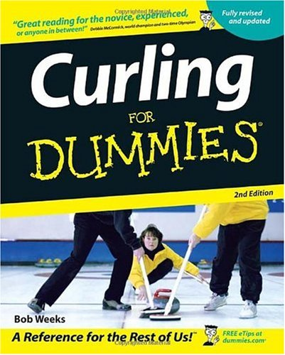 Curling for Dummies  2nd 2006 (Revised) edition cover