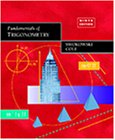 Fundamentals of Trigonometry  9th 1999 (Revised) edition cover