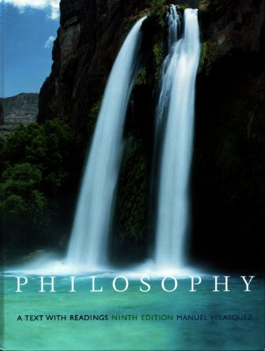 Philosophy A Text with Readings 9th 2005 (Revised) edition cover