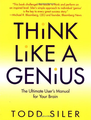 Think Like a Genius  N/A 9780553379280 Front Cover
