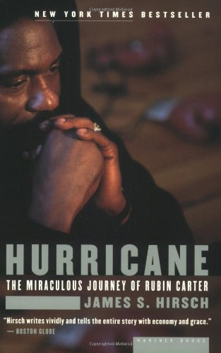 Hurricane The Miraculous Journey of Rubin Carter  2000 edition cover