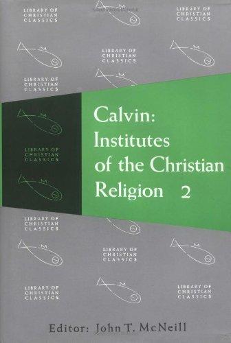 Calvin Institutes of the Christian Religion  2006 (Reissue) edition cover