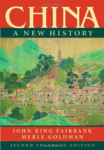 China A New History 2nd 2006 (Enlarged) edition cover