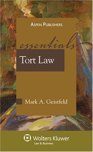 Tort Law  3rd 2008 edition cover