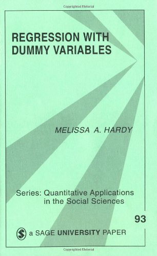 Regression with Dummy Variables   1993 edition cover
