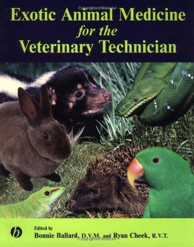 Exotic Animal Medicine for the Veterinary Technician   2003 edition cover