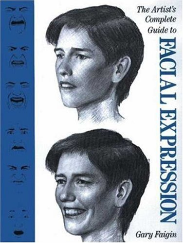 Artist's Complete Guide to Facial Expression   1990 edition cover