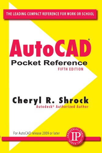 AutoCAD Pocket Reference  5th 2011 edition cover