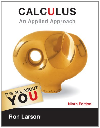 Calculus An Applied Approach 9th 2013 edition cover