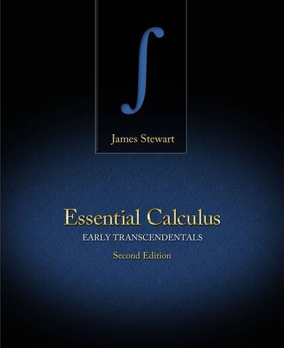 Essential Calculus Early Transcendentals 2nd 2013 (Revised) 9781133112280 Front Cover