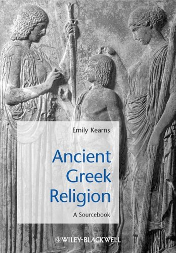 Ancient Greek Religion A Sourcebook  2009 edition cover