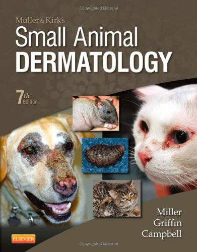 Muller and Kirk's Small Animal Dermatology:   2012 9781416000280 Front Cover