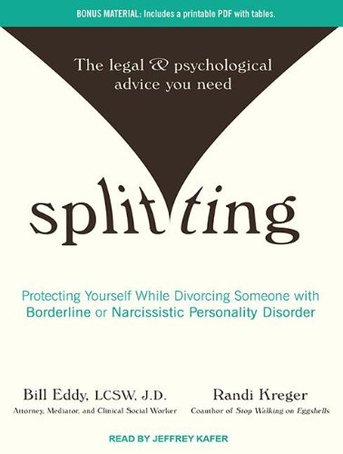Splitting: Protecting Yourself While Divorcing Someone With Borderline or Narcissistic Personality Disorder  2012 edition cover