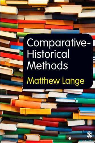 Comparative-Historical Methods   2013 9781849206280 Front Cover