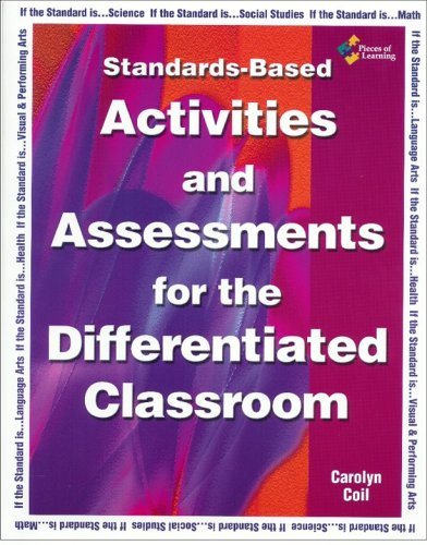 Standards-Based Activities and Assessments for the Differentiated Classroom 1st 2004 edition cover