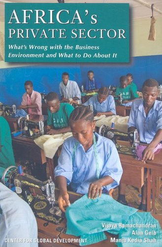 Africa's Private Sector What's Wrong with the Business Environment and What to Do about It  2008 edition cover